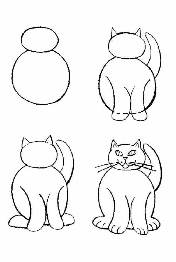 Картинки нарисовать легко и быстро карандашом