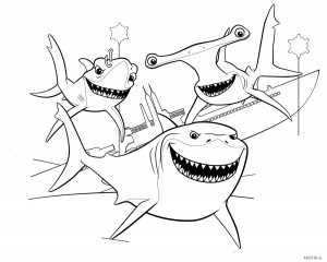 Картинка раскраска акула – Раскраска Акула Скачать И ...