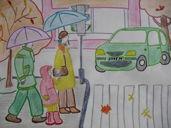 Рисунок на тему пдд 6 класс – Конкурс детские рисунки на ...