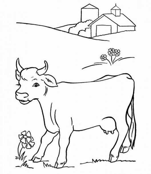 силуэты домашних животных для раскрашивания раскраски
